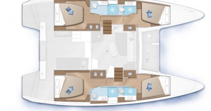 Catamaran à louer à Marina di Portorosa au meilleur prix