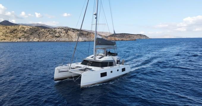 Louer Catamaran avec ou sans skipper Nautitech à Santorin