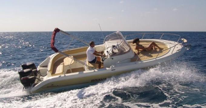 Location bateau Bacoli pas cher Brava 25 WA