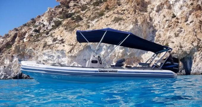 Planatech 570 entre particuliers et professionnel à Paros