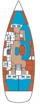 Location bateau Bénéteau Oceanis 411 Clipper à Álimos sur Samboat
