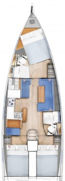 Location yacht à Lefkada (Île) - Jeanneau Sun Odyssey 410 sur SamBoat