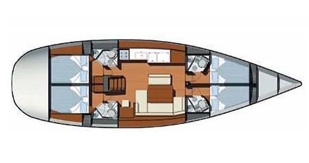 Location bateau Skradin pas cher Sun Odyssey 49i