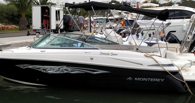 Louer Bateau à moteur avec ou sans skipper Monterey à Cala d'Or