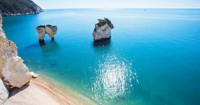 Location bateau Vieste pas cher 365sc