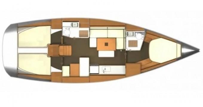 Location bateau Fethiye pas cher Dufour 405 Grand Large