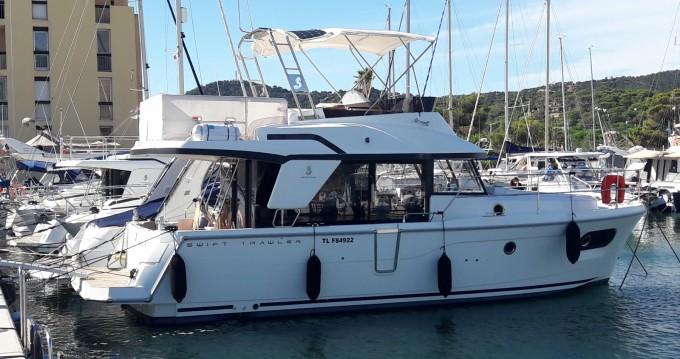 Location Bateau à moteur à Six-Fours-les-Plages - Bénéteau Swift Trawler 35