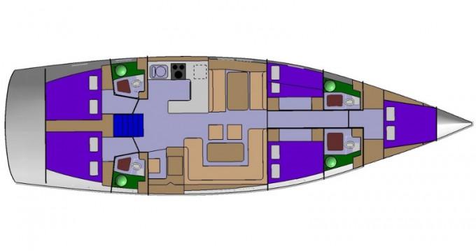 Location bateau D&D Yacht D&D Kufner 54 à Punat sur Samboat