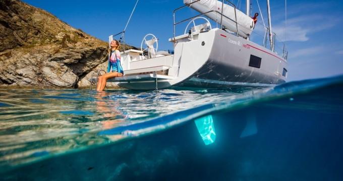 Bénéteau Oceanis 46.1 entre particuliers et professionnel à Corfou