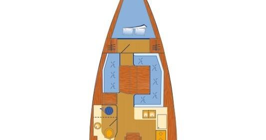 Location bateau Skradin pas cher Sun Odyssey 389 JP