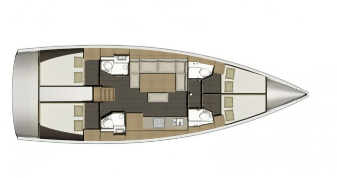 Location yacht à Marmaris - Dufour Dufour 460 Grand Large sur SamBoat