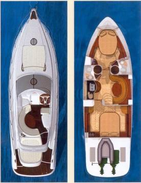 Location bateau Punat pas cher Gobbi 425 SC