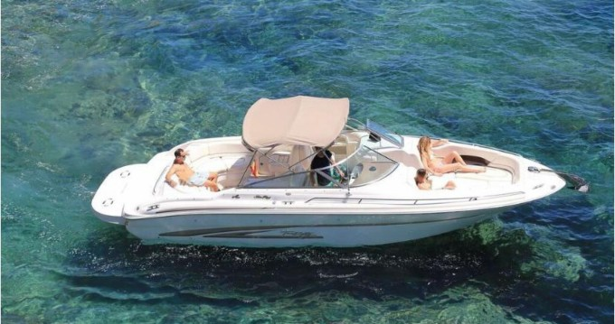 Louer Bateau à moteur avec ou sans skipper Sea Ray à Île d'Ibiza