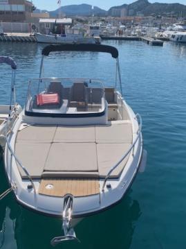 Location yacht à Pointe-Rouge - Quicksilver Activ 675 Sundeck sur SamBoat