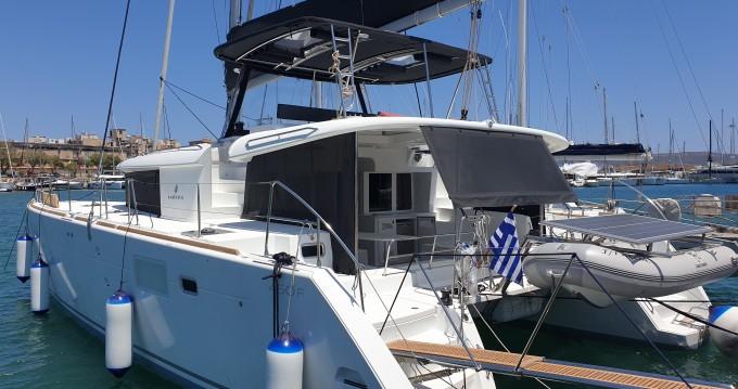 Location bateau Paros pas cher Lagoon 450 F