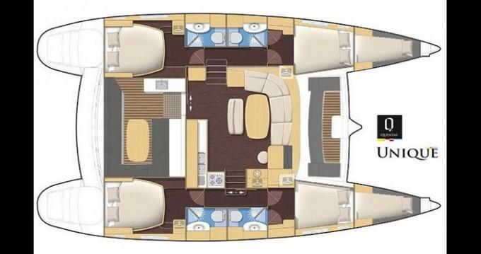 Location bateau Trogir pas cher Lagoon 440