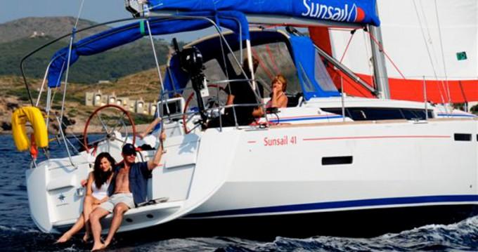 Location bateau Jeanneau Sunsail 41 à Road Town sur Samboat