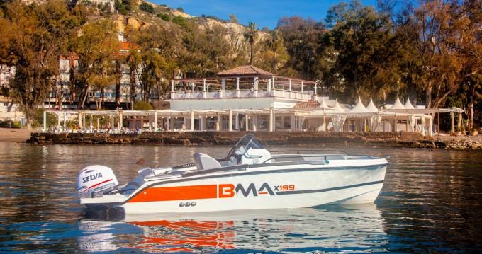 Location Bateau à moteur à Málaga - BMA BMA X199