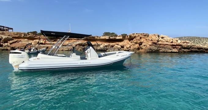Location bateau Sant Antoni de Portmany pas cher Zar 79 SL