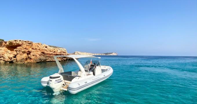 Location bateau Sant Antoni de Portmany pas cher Tempest 800