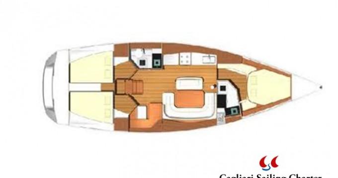 Location bateau Golfo Aranci pas cher Dufour 425 GL