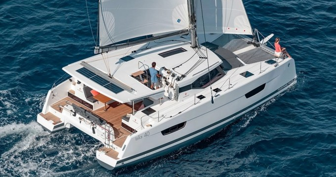 Location yacht à Bandol - Fountaine Pajot Isla 40 sur SamBoat