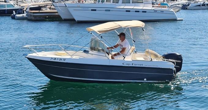 Location bateau Île d'Ibiza pas cher Cap Ferret 502
