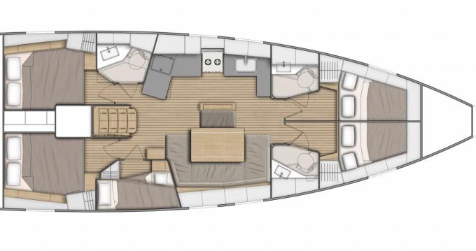 Location Voilier à Bandol - Bénéteau Oceanis 46.1