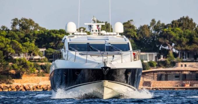 Location Yacht à Cannes - Sunseeker Predator 72