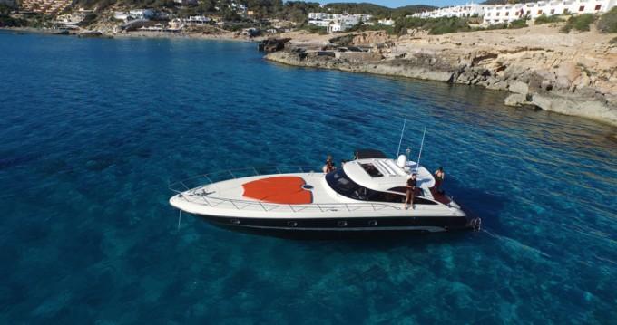 Louer Bateau à moteur avec ou sans skipper Baia à Santa Eulària des Riu