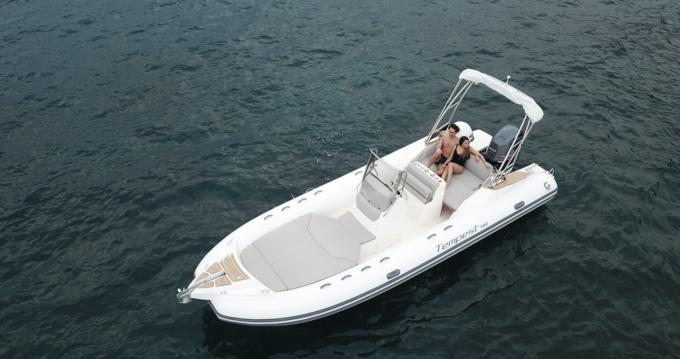 Location bateau Capelli Tempest 700 luxe  à Algajola sur Samboat