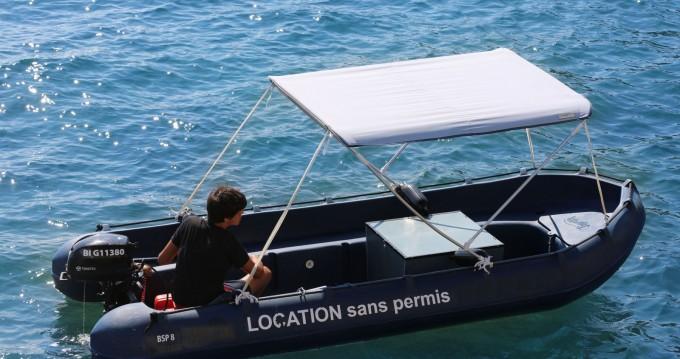 Louer Bateau à moteur avec ou sans skipper Sans Permis à Cassis