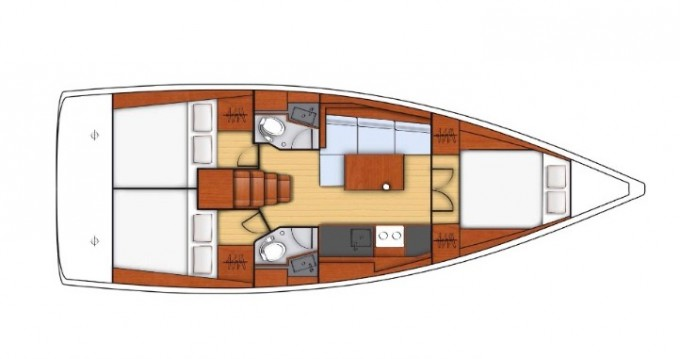 Location yacht à Salerno - Bénéteau Oceanis 38.1 sur SamBoat