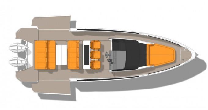 Location Bateau à moteur  avec permis