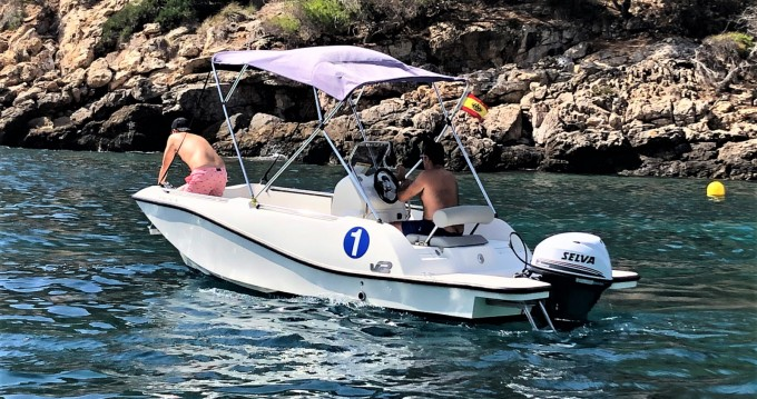 Location bateau V2 BOATS 5.0 SPORT à Puerto de Pollensa sur Samboat