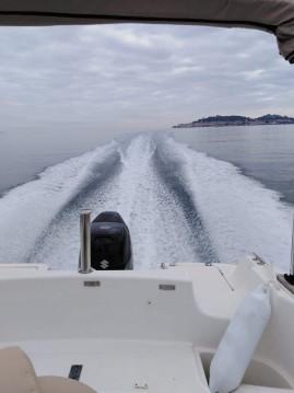 Jeanneau Cap Camarat 625 WA entre particuliers et professionnel à Sainte-Maxime