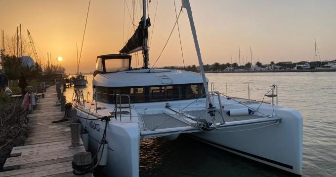 Location bateau Lagoon Lagoon 39 à Porto Anzio sur Samboat