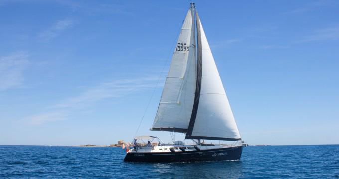 Location bateau Santa Pola pas cher Sun Odyssey 43