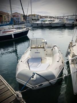 Zodiac Pro Open 550 entre particuliers et professionnel à Martigues