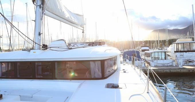 Catamaran à louer à Porto-Vecchio au meilleur prix