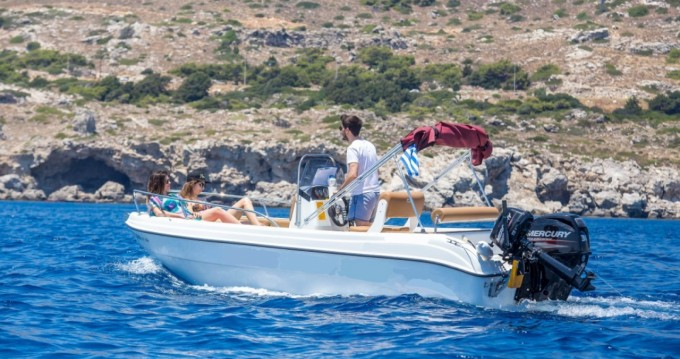 Location yacht à Rhodes - Karel Paxos 170 sur SamBoat