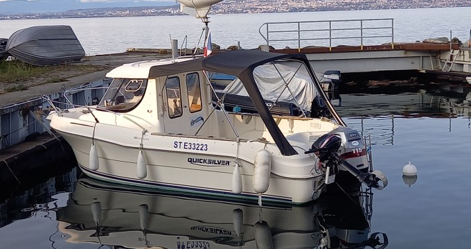 Location bateau Quicksilver Quicksilver 640 Pilothouse à Évian-les-Bains sur Samboat