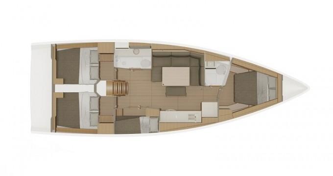 Location bateau Dufour Dufour 430 Grand Large à Biograd na Moru sur Samboat