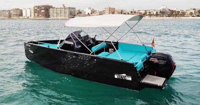 Location bateau Torrevieja pas cher Nuva M6 Open