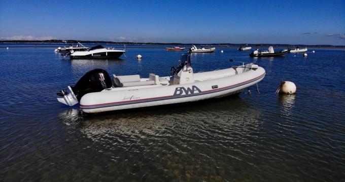Louer Bateau à moteur avec ou sans skipper Bwa à Arcachon