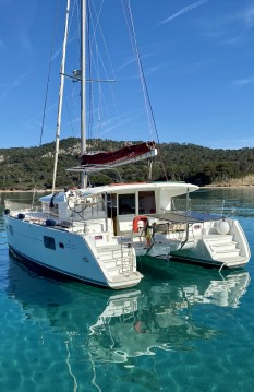 Location bateau Lagoon Lagoon 400 S2 à Hyères sur Samboat