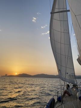 Location bateau Île d'Ibiza pas cher Vagabundo 53 pies