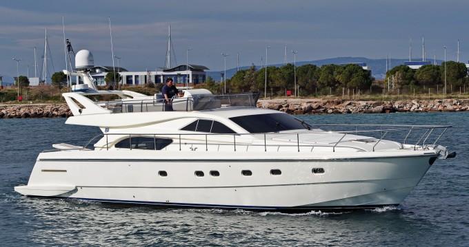 Location bateau Glyfada pas cher Ferretti 57 Fly Anniversary