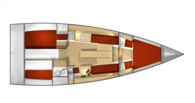 Location bateau La Rochelle pas cher Pogo 12.50