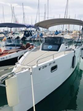 Location bateau Sitges pas cher Nuva M6